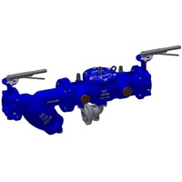 150mm Tyco RP03 RPZ Complete- with 2x  Lever Type Butterfly Valves, Line Strainer and Bolts Kit.